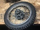 Honda XR70 XR 70 XR70R CRF70 CRF 70 CRF70F Complete Front Wheel And Axle