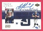 Troy Aikman 2004 Ultimate Collection Auto 6 9