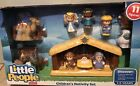 New Fisher Price LITTLE PEOPLE Childrens NATIVITY SET 11 Xmas Figures 14 Pc