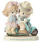 Precious Moments Scootin Along Singin Our Song Figurine