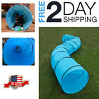 Pet Training Tunnel Agility Equipment Playground Exercise Outdoor Long Tube Dog