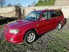 SUBARU FORESTER Cross Sports Turbo Manual Petrol 2004