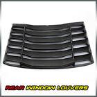 ABS Rear Window Windshield Louvers Cover Sun Shade For 2016 2019 Chevy Camaro