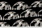African Animals Elephant Native Fabric Printed by Spoonflower BTY
