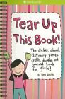 Tear up This Book American Girl Spiral Notebook w Stickers Games Crafts