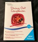 WEIGHT WATCHERS 2011 Points Plus DINING OUT COMPANION Book