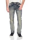Rock Revival Mens Moises VTG Blue 40