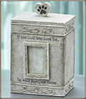 Pet Memorial Urn Dog Cat Personalized Photo Gift Box Cremation Ashes Keepsake