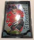 Artemi Panarin Rookie Card Checklist and Gallery - NHL Rookie of the Year 25