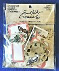 Tim Holtz Idea ology Scrapbook Embellishments Snippets Ephemera Pack 111pc NIP