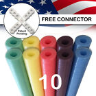 Deluxe Foam Pool Swim Noodles 10 PACK 52 Inch Wholesale Pricing Bulk Pack