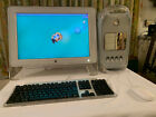 Apple Power Mac G4 Mirrored Doors M8570 Dual 1Ghz CPUs Upgrades + Extras