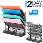Desktop File Folder Organizer Vertical Desk Document Paper Mail Holder Sorter