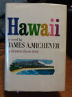 SIGNED Hawaii James Michener later printing hardcover w dustjacket