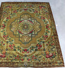 BEST Roses,Garland,Ribbons/Bows.Ornate Medallion AXMINISTER WOOL RUG