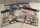 Lot Of 7 Travel Theme Scrapbooking Kits See Photos For Designs And Colors A45