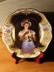 Beautiful Handpainted ROYAL VIENNA Portrait Plate - signed Fritsch - Georg Hom