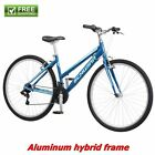 Schwinn Hybrid Bike Blue 700C Womens Cruiser Alloy Frame Sport Road Bicycle New
