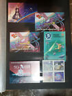 9    PAGES RARE SPACE STAMPS and SOUVENIR SHEETS  MNH