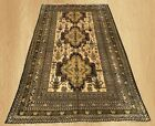 Authentic Hand Knotted Vintage Afghan Balouch Wool Area Rug 7 x 4 FT (7807)