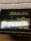 1985 LGB POLA G SCALE BOBBYS GARAGE WITH ACCESSORIES
