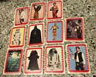 1977 Topps Star Wars Yellow 3rd Series 10 Sticker Set #23-33