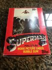 1981 SUPERMAN II WAX BOX TRADING CARDS - 36 PACKS UP TO 3 AVAILABLE!