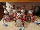 Collectible Snowman Bottle (Lighted;Winter)