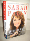 SIGNED 1st Edition AMERICA BY HEART Sarah Palin MEMOIR Autobiography FIRST PRINT