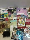 Lot 50 Scrapbooking Stickers Embellishments Cut Outs Signs Buttons Jolee Disney