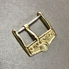 BuckleRado 16mm. For Strap 18mm. Watch Gold Plated