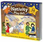 Lets Pretend Nativity Play Set by Roger Priddy Used