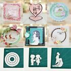 Cards Making Paper Crafts Lady Photo Album Decor Embossing Stencil Cutting Dies