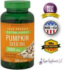 PUMPKIN SEED OIL 2000 mg 200 Softgel Capsules Prostate Function