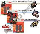 SBS HS Sinter front brake pads road novice track day Sachs X-Road 125 07 08 09