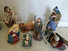 Realistic Nativity Set 7 Piece 11 Inches Tall 0560