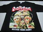DESTRUCTION release from agony T SHIRT MEDIUM KREATOR SODOM HOLY MOSES