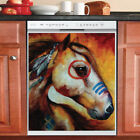 Country Decor Kitchen Dishwasher Magnet Beautiful Native Horse 4