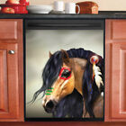 Country Decor Kitchen Dishwasher Magnet Beautiful Native Horse 5