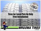 2 GOODYEAR WRANGLER SR-A 255/75/17 USED TIRES 8.4/32 NO PATCH JEEP 113S 2557517
