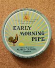Dunhill Pipe Tobacco Tin Early Morning Pipe Vintage 1950's/ Empty