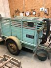 Bespoke French vintage cattle trailer