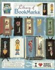 LIBRARY OF BOOKMARKS CROSS STITCH BOOKMARK LEAFLET