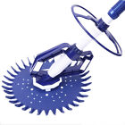Automatic Climb Wall Swimming Pool Cleaner Set Cleaning Equipment Tool w Hoses