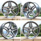 NEW 19 AMG WHEELS RIMS GUNMETAL MERCEDES BENZ E CLASS E320 E350 E500 E550 E63