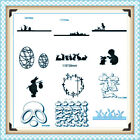 Easter Animals Kids Chicks Cutting Dies Stencil Scrapbook Embossing Card Making