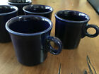 Fiesta Fiestaware by Homer Laughlin Cobalt Blue Tom & Jerry Mugs (Set of 5)