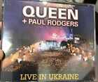 Live In Ukraine Paul Rodgers Queen (CD, 3 Discs, Hollywood) Free Bad Company