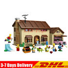 The Simpsons House 2575 Pcs Model Building Block Bricks Fast Shipping By DHL