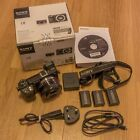 Sony Alpha NEX-6L 16.2MP Digital Camera, 16-50mm Lens and two extra batteries